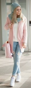 Casual Style embracing Rose Quartz and Serenity